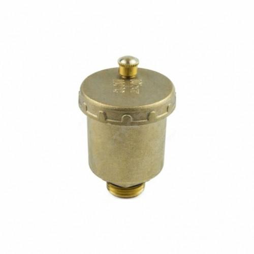 Воздухоотводчик автоматический латунь 5003 Ду 15 Ру10 G1/2' НР Aquasfera 5003-01