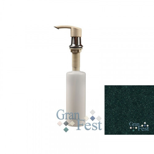 Дозатор GranFest 101 Плоский с колбой 250 мл. цвет Зеленый 305