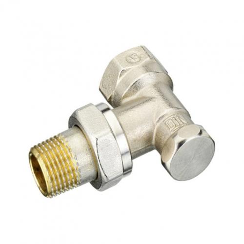Клапан запорный для радиатора RLV-S Ду 15 Ру10 ВР угловой Danfoss 003L0123
