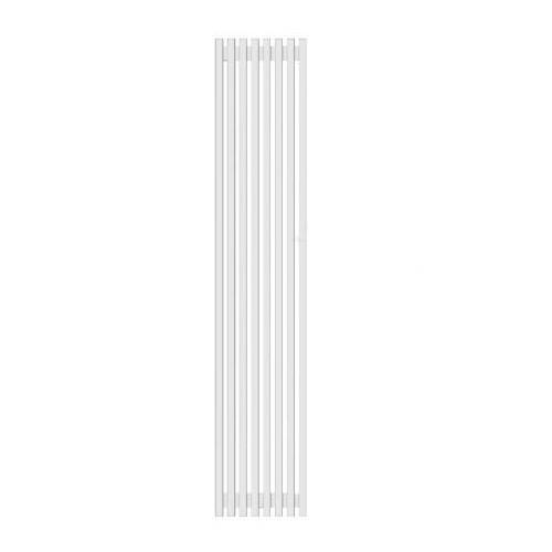 Радиатор трубчатый Grey V (H=1000мм) 4 секции с нижней подводкой лев ВР G 1/2' RAL 9016 (Белый) Loten