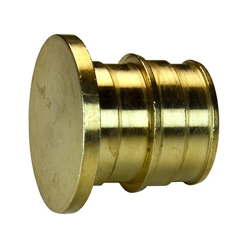 Заглушка для PE-X латунь Дн 16 РОС