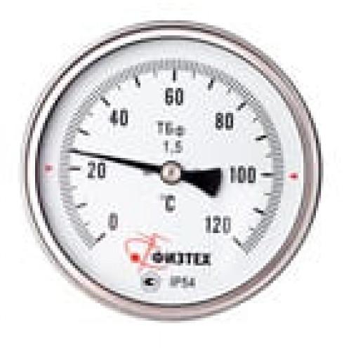Общетехнические биметаллические термометры ТБф-120 d.160