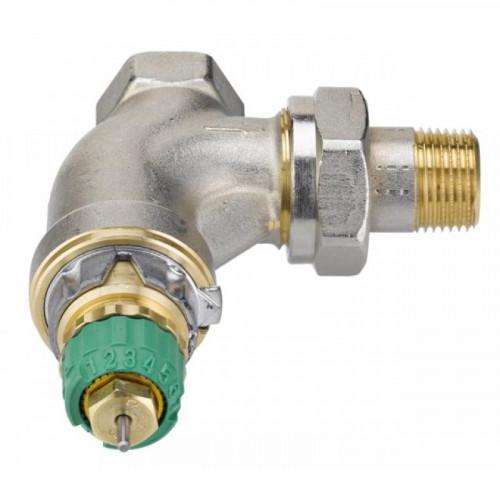 Клапан RA в стал.корпусе для двухтруб.. систем, КТК-У-2 (U-bend 2) под приварку,