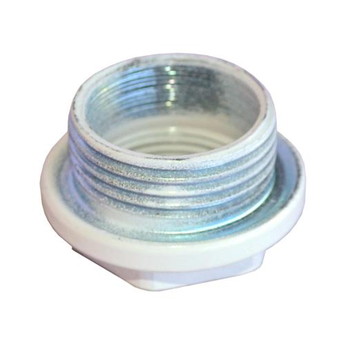 Заглушка (пробка) глухая 1' левая резьба для алюминиевых и биметаллических радиаторов с прокладкой Ogint