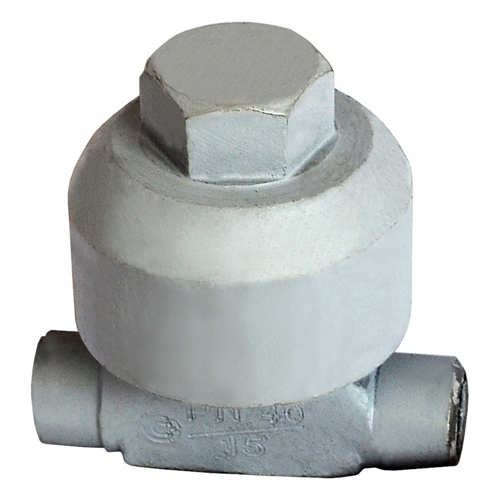 Конденсатоотводчик термодинамический сталь 45с13нж Ду 25 Ру40 п/привар