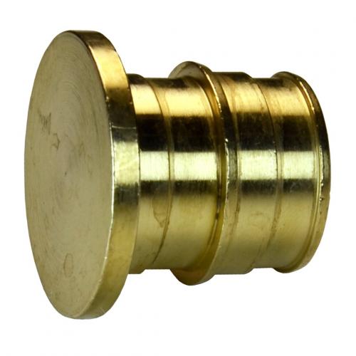 Заглушка для PE-X латунь Дн 20 РОС