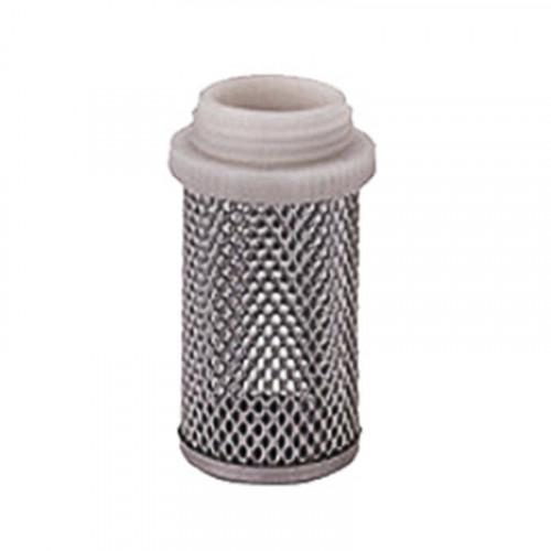 Сетка приёмная из нержавеющей стали с резьбой Ду 40 д/обратного клапана, Seagull