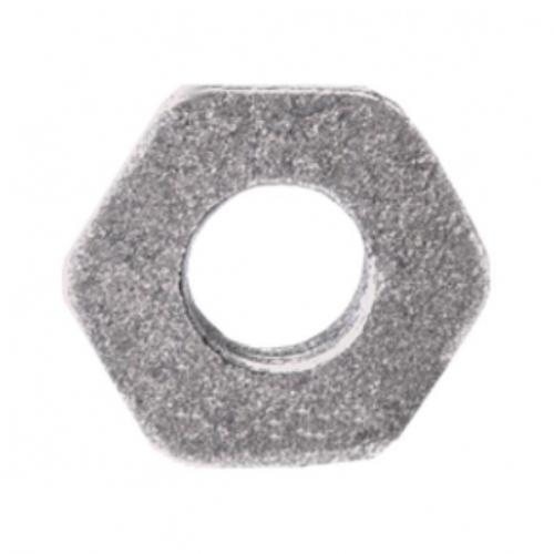 Заглушка (пробка) проходная 1 1/4'x1/2' правая резьба для чугунных радиаторов Китай