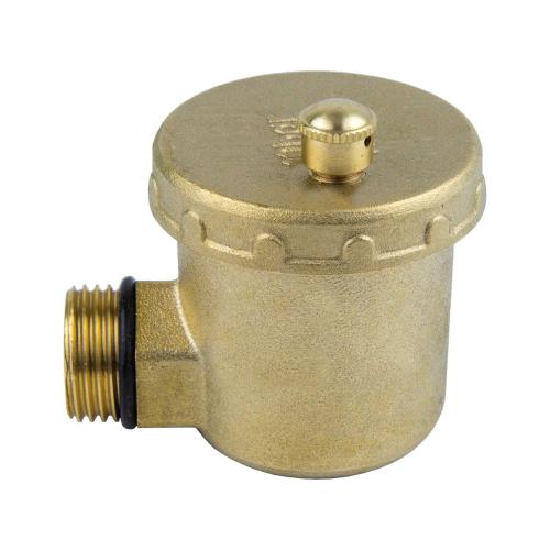Воздухоотводчик автоматический латунь 5004 Ду 15 Ру10 G1/2' НР угл Aquasfera 5004-01 .