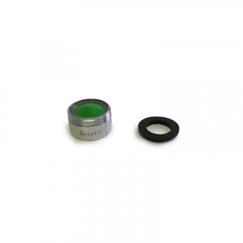 Аэратор ZOLLEN (арт. SP11002) M24x1, внешняя резьба, пластик-сталь (уп. ПВХ)