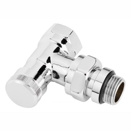Клапан запорный для радиатора RLV-CX Ду 15 Ру10 ВР угловой Danfoss 003L0273