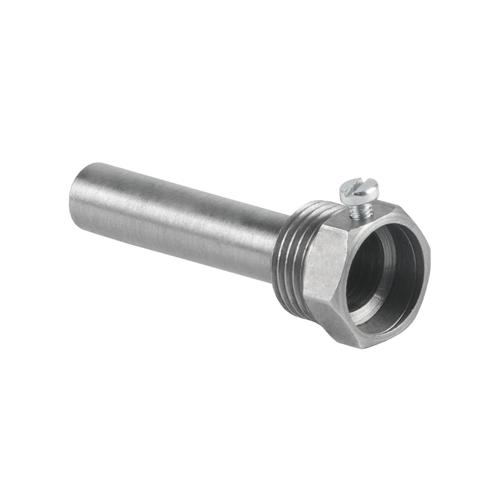Гильза сталь A50 для бим/термометра Ру25 бар (1/2') защитная L=100мм НР Wika 8600448