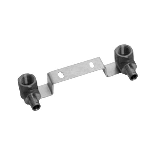 Водорозетка для PE-X латунь Smart Aqua Q&E Дн 16х1/2' ВР с монтажной планкой Uponor 1023037