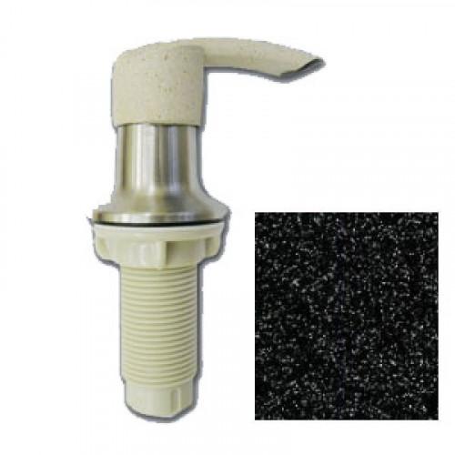 Дозатор GranFest 101 Плоский с колбой 250 мл. цвет Черный 308