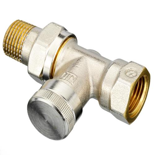 Клапан запорный для радиатора RLV Ду 10 Ру10 ВР прямой Danfoss 003L0142