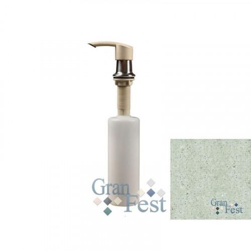 Дозатор GranFest 101 Плоский с колбой 250 мл. цвет Салатовый 303