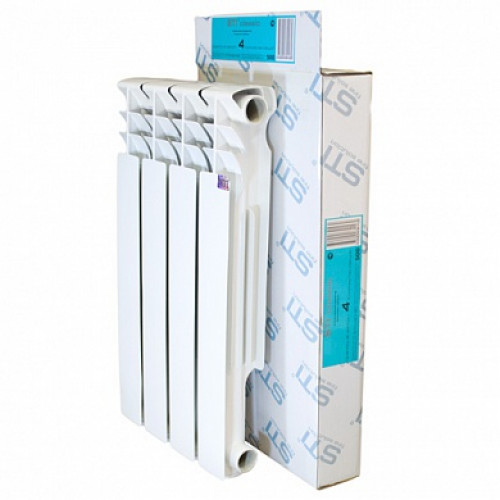 Алюминиевый радиатор STI 500 80 4 секции