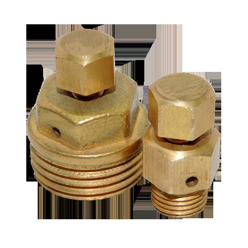 Воздухоотводчик ручной латунь ВО-1,0 Ру10 G1/2' НР Цветлит ZW90002