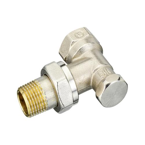 Клапан запорный для радиатора RLV-S Ду 15 Ру10 ВР угловой Danfoss 003L0123 .