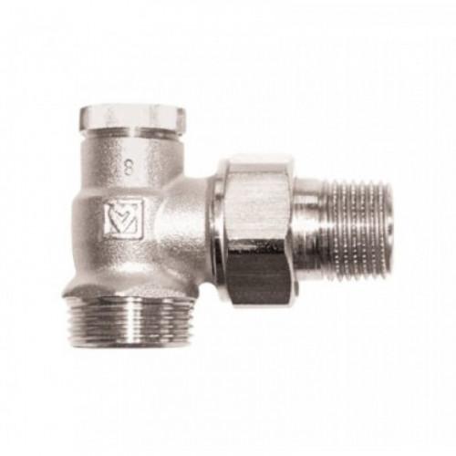 Клапан запорный Герц-RL-1 угловой G3/4