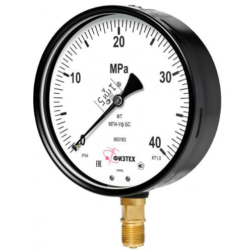 Вакуумметры, мановакуумметры, манометры общетехнические пылевлагозащищенные ВП4-Уф, МВП4-Уф, МП4-Уф УХЛ1