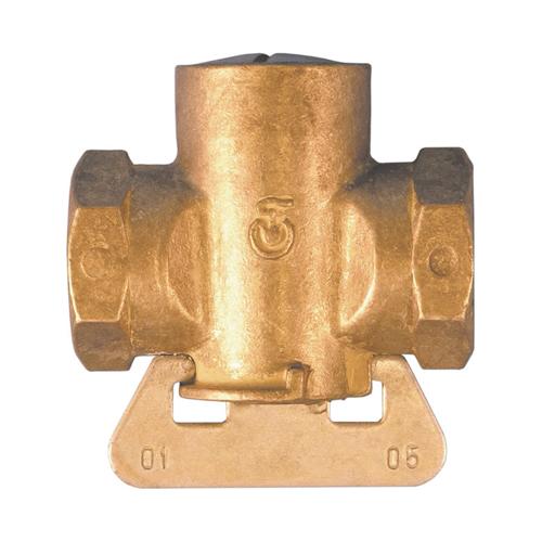 Кран конусный латунь газ 11б12бк Ду 20 Ру0,1 G3/4' ВР полнопроходной Цветлит ZW30007