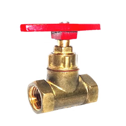 Клапан запорный латунь 15б1п Ду 50 Ру16 ВР прямой ТУ РБ 500059277.015-2000 Цветлит ZW20021