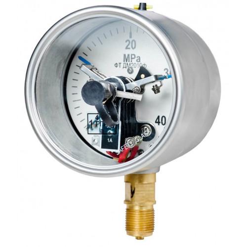 Вакуумметры, мановакуумметры, манометры электроконтактные пылевлагозащищенные ДВ2010ф, ДА2010ф, ДМ2010ф IP54(IP65)