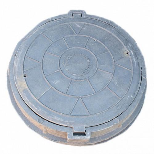 Люк полимерный легкий с замками, 70 кН