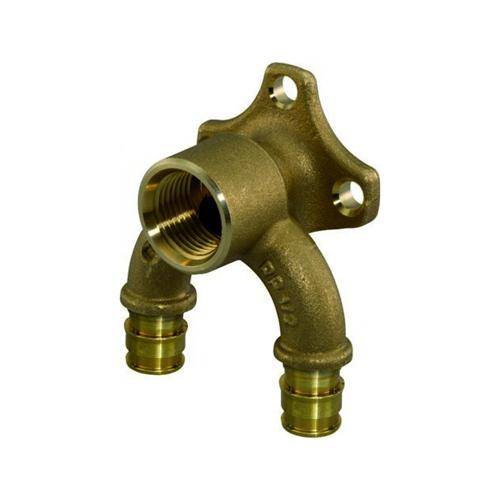 Водорозетка U-профиль проходная для PE-X латунь Smart Aqua Q&E Дн 20х1/2' ВР Uponor 1059821