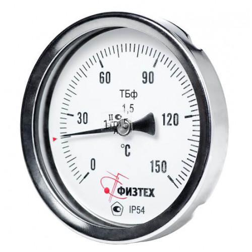 Общетехнические биметаллические термометры ТБф-120 d.80