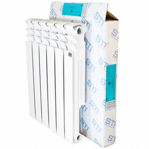 Алюминиевый радиатор STI 500 80 6 секций