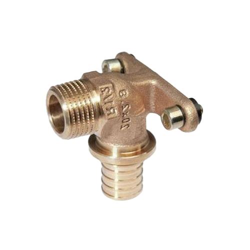 Водорозетка для PE-X бронза RAUTITAN RX Дн 16х1/2' НР Rehau 13661071001