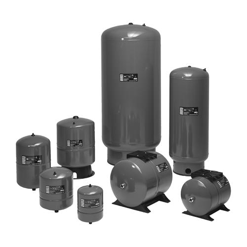 Бак мембранный GT-H-60 G 1' Ру10 для водоснабжения Grundfos 96528341