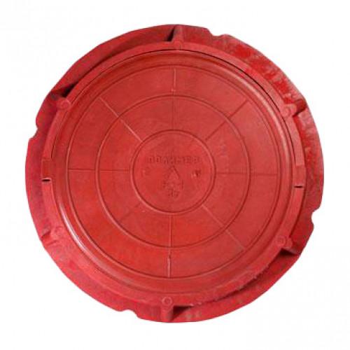 Люк полимерный легкий, 70 кН - красный