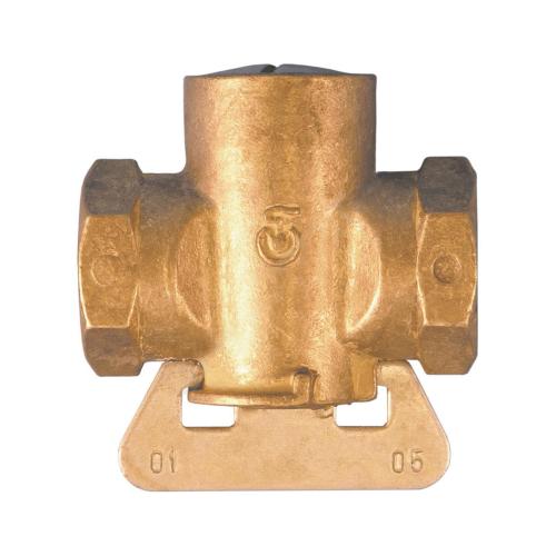 Кран конусный латунь газ 11б12бк Ду 15 Ру0,1 G1/2' ВР полнопроходной Цветлит ZW30001