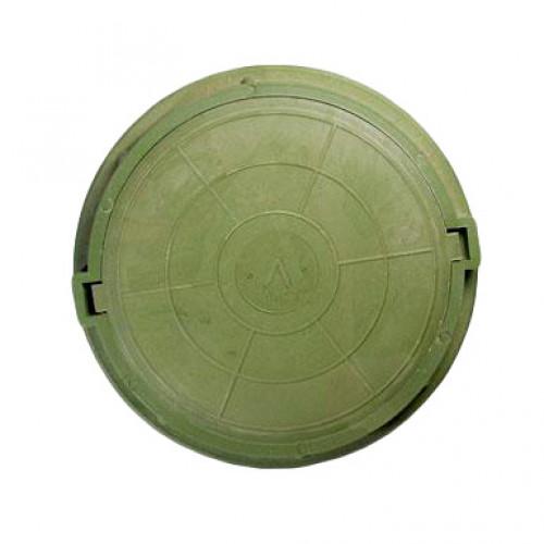 Люк полимерный малый, 15 кН - зелёный