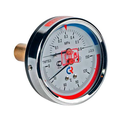Термоманометр ТМТБ-31Т.1 осевой Дк80 1,6МПа L=46мм G1/2' 150С Росма 00000002296