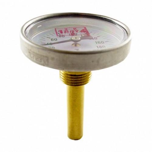 Термометр биметаллический 200°C L=60 (50)
