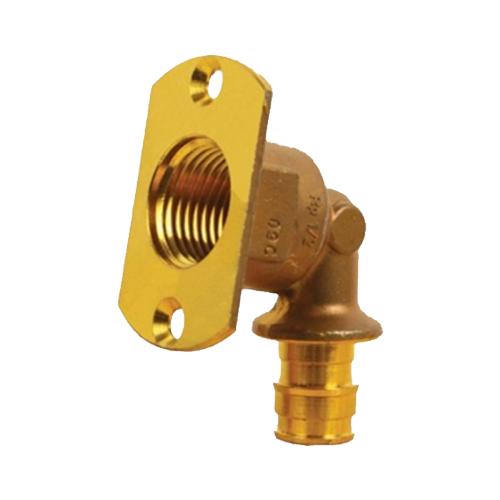 Водорозетка для PE-X латунь Smart Aqua Q&E Дн 16х1/2' ВР под настенную коробку UP Uponor 1047935 (1008823)