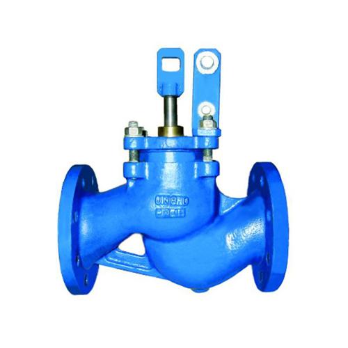 Клапан поплавковый прямой чугун RF3241 Ду 150 Ру16 фл поплавок сталь нерж в комплекте Тмакс=120 оС Tecofi RF3241-0150
