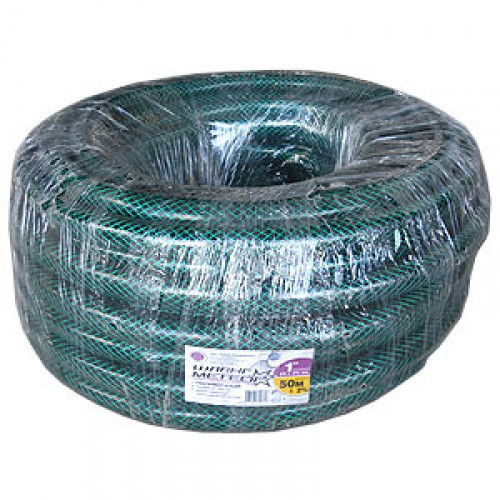 Шланг поливочный армир. зеленый 1 (бухта 50м.)