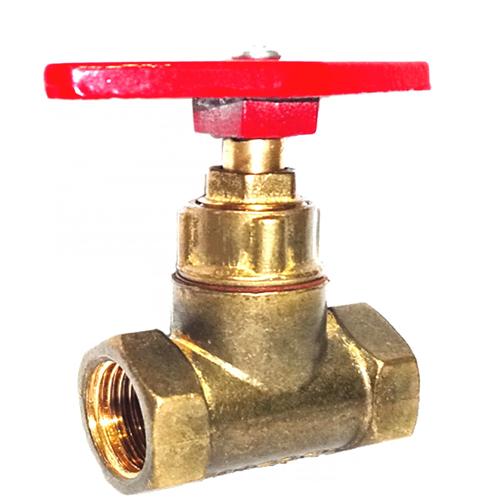 Клапан запорный латунь 15б1п Ду 20 Ру16 ВР прямой ТУ РБ 500059277.015-2000 Цветлит ZW20007