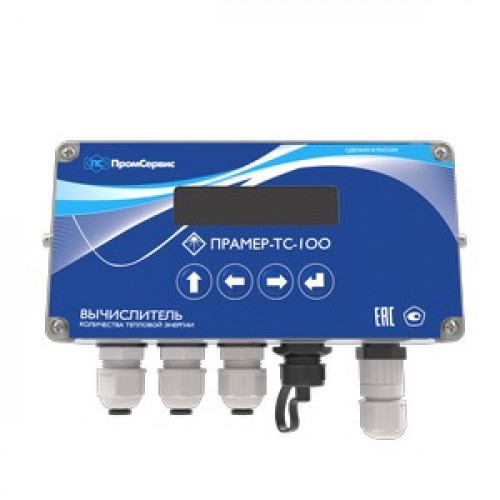 Вычислитель количества тепловой энергии ПРАМЕР-ТС-100